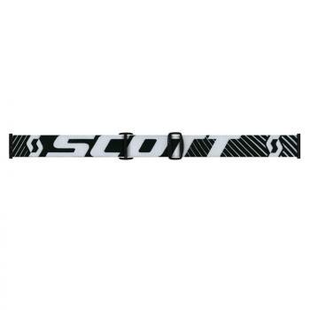 Masque Scott Hustle MX Enduro Black White / Light Sensitive Works-2