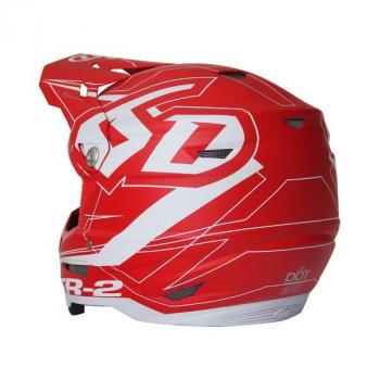 Casque 6D ATR-2 Aero Red M-3