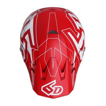 Casque 6D ATR-2 Aero Red M-4