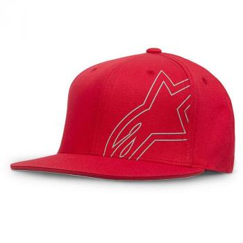 Casquette Alpinestars Brake Flatbill Red L/XL