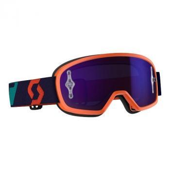 Masque Enfant Scott Buzz MX Pro Orange Blue Purple