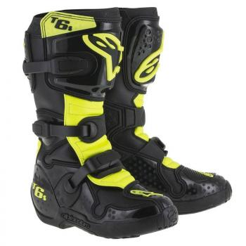 "Bottes Alpinestars Tech 6 Black/Yellow Fluo 3 (35.5) \""Vilopotto\"""