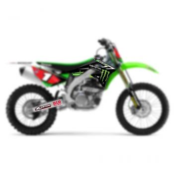 Kit deco seul DCor TeamGreen 85KX14-(+stickers GB AvAr et bras osc.)