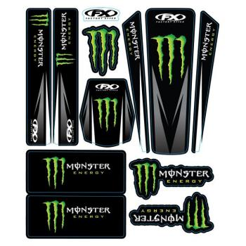 Kit stickers universel Monster 14 Facory Effex