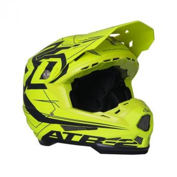 Casque 6D ATR-2 Aero Neon Yellow L