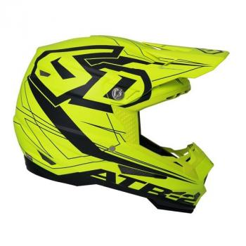 Casque 6D ATR-2 Aero Neon Yellow L-2