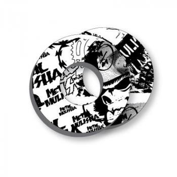 Donuts Metal Mulisha Factory Effex White/black