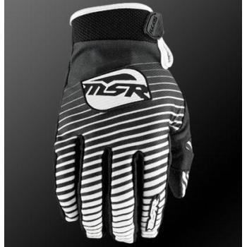 Gants Enfant MSR Axxis Black White XL
