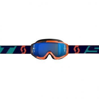 Masque Scott Hustle MX Orange Blue / Electric Chrome Works