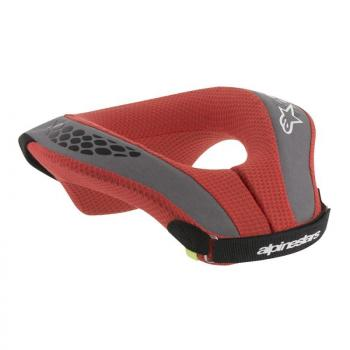 Tour de Cou Alpinestars Neck Sequence Youth Black Red S/M