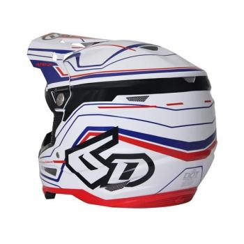 Casque 6D ATR-2 Circuit White M-3
