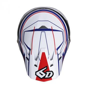 Casque 6D ATR-2 Circuit White M-4