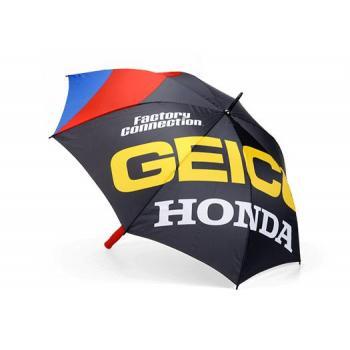 Parapluie Strike Umbrella 100% Geico/Honda Black