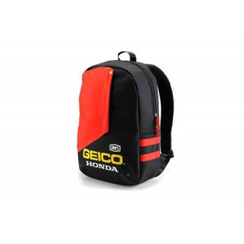 Sac a Dos 100% Geico/Honda Backpack Haversack Black