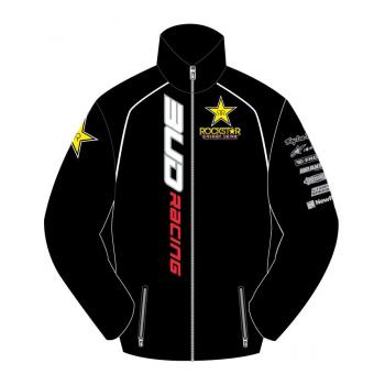 Polaire zip Team BUD/Rockstar 10 8 ans