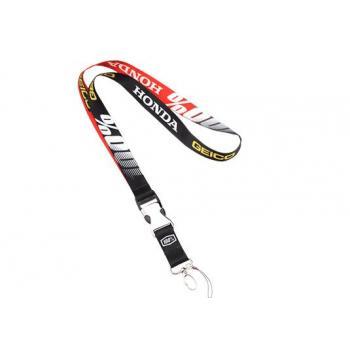 Lanyard 100% Geico/Honda Black