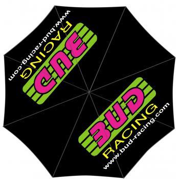 Parapluie Bud racing original logo Pink/green