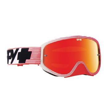 Masque SPY Woot Race Red Flash rouge écran AFC miroir rouge