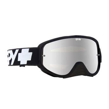 Masque SPY Woot Race Enduro noir double écran clair