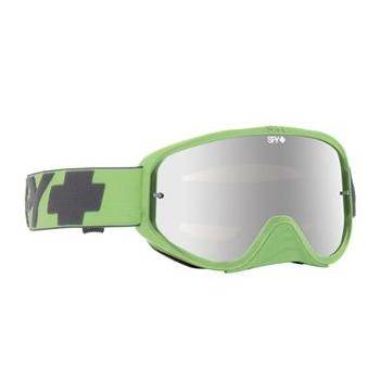 Masque SPY Woot Race Washed Out Green vert écran AFC miroir argent