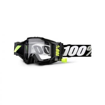 Masque 100% Accuri Forecast - Noir Tornado - Ecran clair