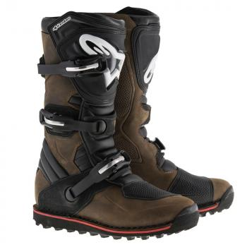 Bottes Alpinestars Tech T Brown Oiled 9 (43)