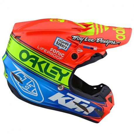 Casque TroyLeeDesign SE4 Composite Team Edition 2 helmets
