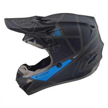 Casque TroyLeeDesigns SE4 Polyacrylite Metric black helmets-2