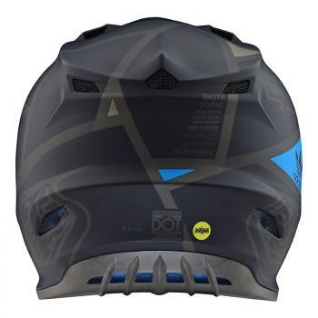 Casque TroyLeeDesigns SE4 Polyacrylite Metric black helmets-4