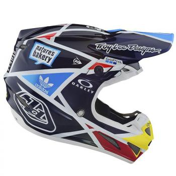 Casque TroyLeeDesign SE4 Carbon metric navy helmets