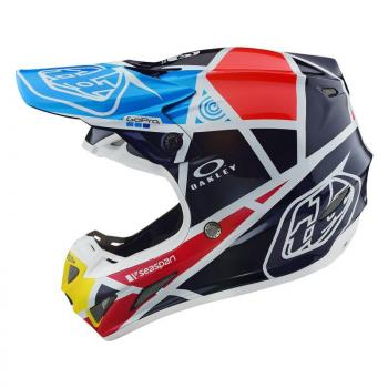 Casque TroyLeeDesign SE4 Carbon metric navy helmets-2