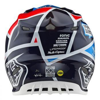 Casque TroyLeeDesign SE4 Carbon metric navy helmets-3