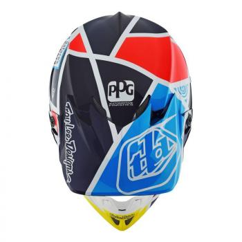 Casque TroyLeeDesign SE4 Carbon metric navy helmets-4