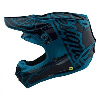 Casque TroyLeeDesigns SE4 Polyacrylite Factory ocean helmets-2