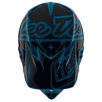 Casque TroyLeeDesigns SE4 Polyacrylite Factory ocean helmets-3