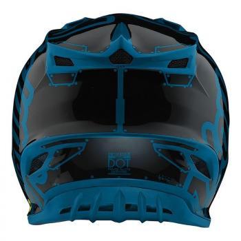 Casque TroyLeeDesigns SE4 Polyacrylite Factory ocean helmets-4
