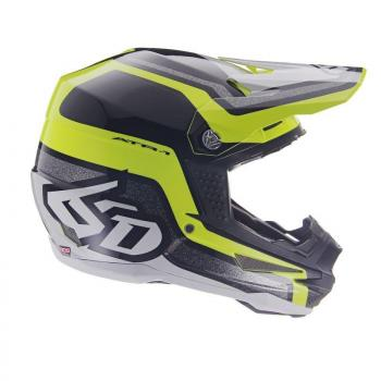 Casque 6D ATR-1 Fuse Yellow Black M