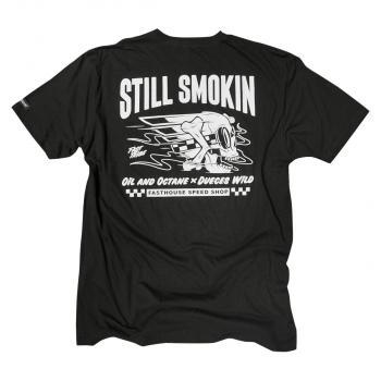 FASTHOUSE SHIRT STILL SMOKIN BLACK