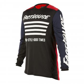 FASTHOUSE JERSEY STRIPES RED NAVY