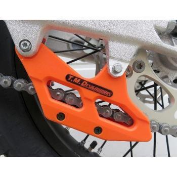 TMD Factory Edition SX chain guide KTM 08-, HSQ 14- ORANGE