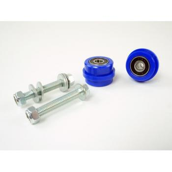 TMD chain roller set Kawasaki KX(F) blue
