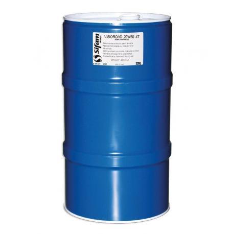 Fût d'huile 4T 20W50 de 220L - Semi Synthèse