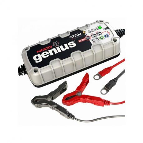 Chargeur de batterie NOCO Genius G7200 lithium 12/24V 7,2A 230Ah