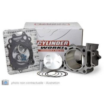 Cylindre-piston 77MM Cylinder Works-Vertex Kawasaki KX 250-F
