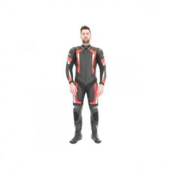 Combinaison RST R-16 cuir rouge taille L homme