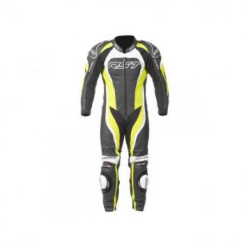 Combinaison RST Tractech Evo II cuir vert fluo taille M homme