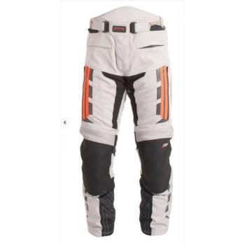 Pantalon RST Pro Series Paragon V textile gris/rouge fluo taille XL court homme
