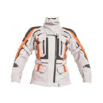 Veste RST Pro Series Paragon V textile toutes saisons argent/flo red taille XS femme