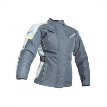 Veste RST Ladies Gemma textile gris/jaune fluo taille 4XL femme