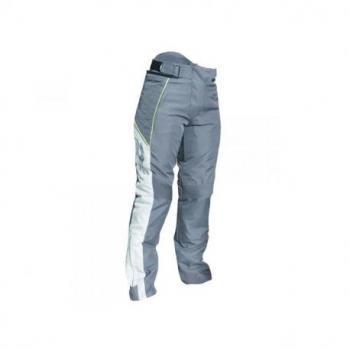 Pantalon RST Ladies Gemma textile toutes saisons gris/flo yellow taille S femme